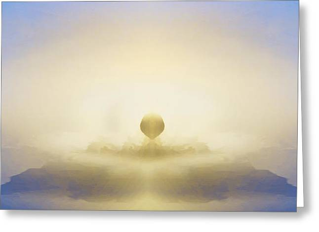Mystical Landscape Greeting Cards - Good Morning...  Greeting Card by Lee Haxton
