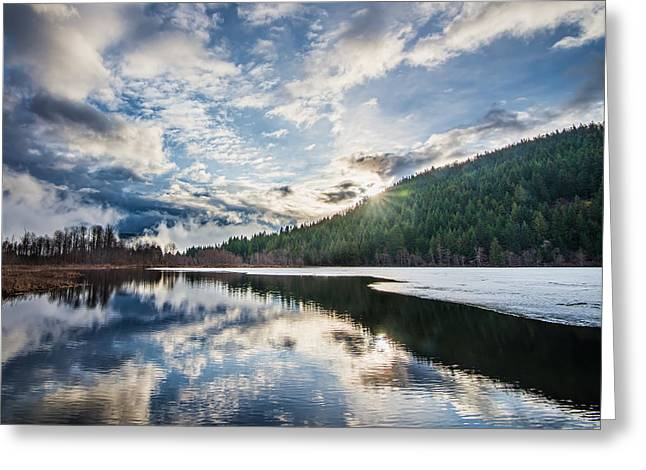 Mile One Greeting Cards - Good Morning Pemberton Greeting Card by James Wheeler