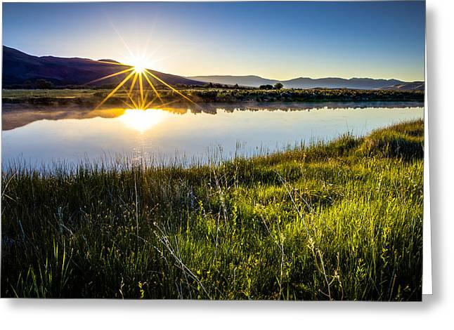 Farm Scenes Greeting Cards - Good Morning Greeting Card by Scott McGuire