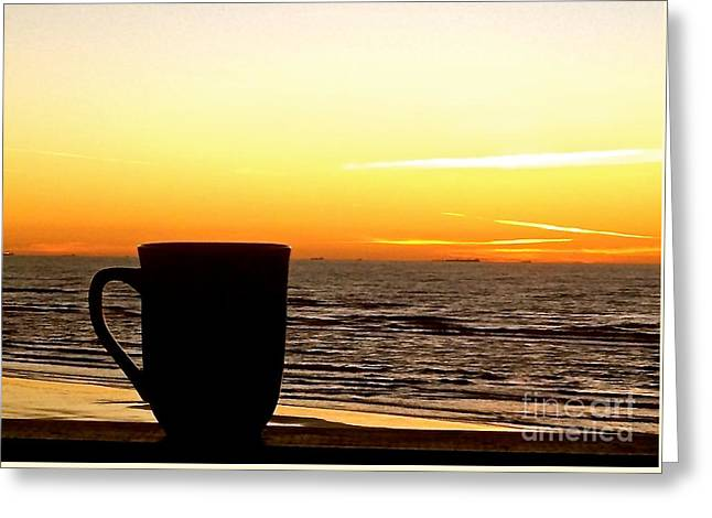 Galveston Greeting Cards - Good Morning Sunshine Greeting Card by Cindy Nearing