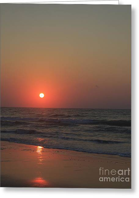 Atlantic Beaches Greeting Cards - Good Morning Sunshine Greeting Card by Teresa Mucha