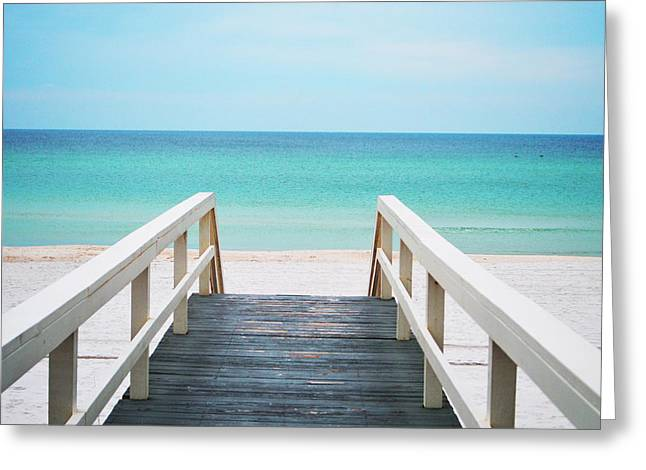 Panama City Beach Greeting Cards - Good Morning Greeting Card by Sydney Alber