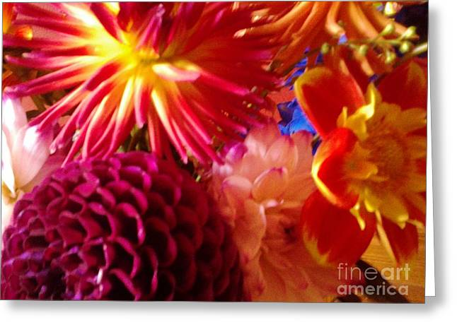 Photographs With Red. Greeting Cards - Good Morning To You Greeting Card by Cindy McClung