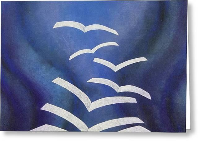 GOOD NEWS BIBLE Greeting Card by Richard Van Order