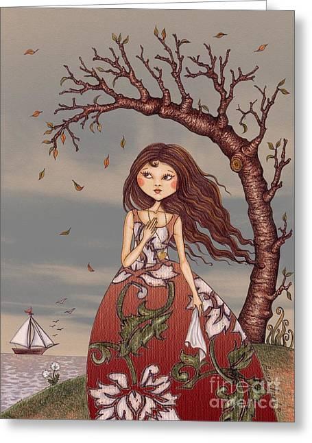 Seen Greeting Cards - Goodbye my friend Greeting Card by Snezana Kragulj