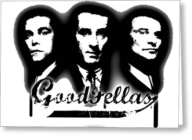 Ray Liotta Greeting Cards - Goodfellas Greeting Card by Guido Prussia
