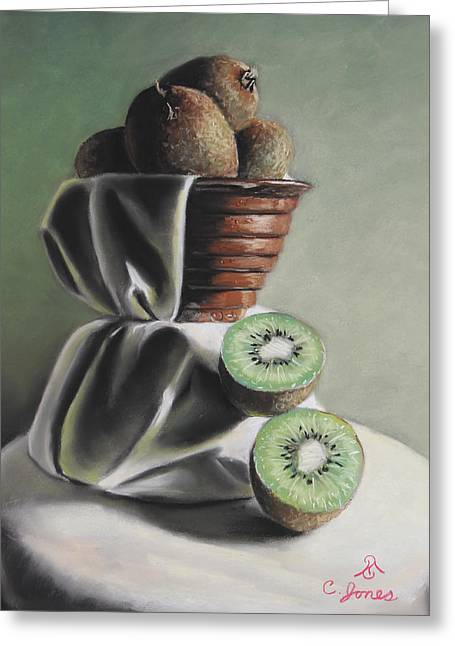 Kiwi Pastels Greeting Cards - Goodness Greeting Card by Charles T Jones