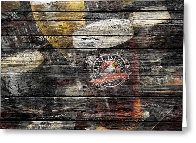 Saloons Greeting Cards - Goose Island Greeting Card by Joe Hamilton