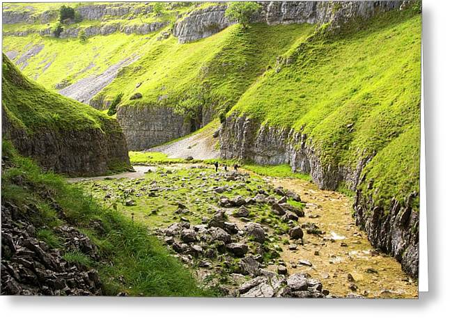 Goredale Scar Greeting Card by Ashley Cooper