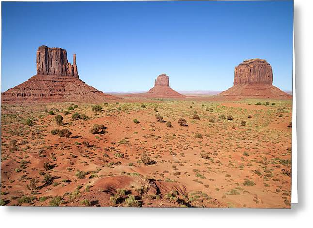 Geologic Greeting Cards - Gorgeous Monument Valley Greeting Card by Melanie Viola