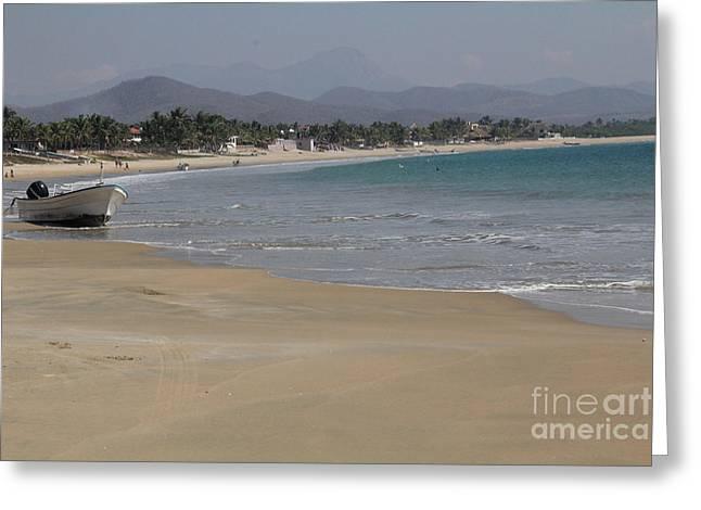 Linda Queally Greeting Cards - Gorgeous Punta Perula Greeting Card by Linda Queally