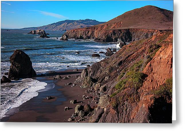 Saltwater Greeting Cards - Gorgeous Sonoma Coast Greeting Card by Garry Gay