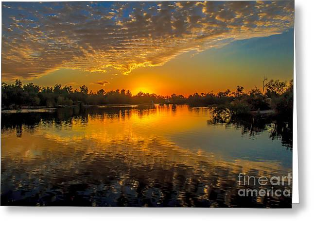 Wow Greeting Cards - Gorgeous Sunset  Greeting Card by Robert Bales