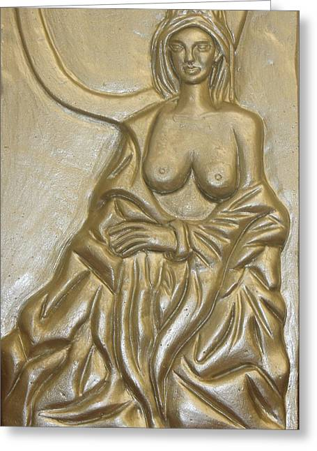 Decor Reliefs Greeting Cards - Gorgeous Greeting Card by Xueyin Chen