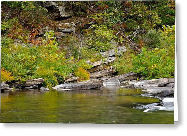 Goshen Pass 4 Greeting Card by Todd Hostetter