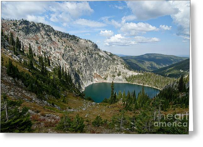 Idaho Scenery Greeting Cards - Gospel Hump Wilderness, Idaho Greeting Card by William H. Mullins