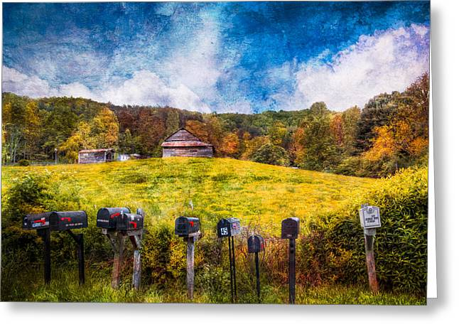 Tennessee Barn Greeting Cards - Got Mail? Greeting Card by Debra and Dave Vanderlaan