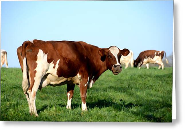 Get Greeting Cards - Got Milk Greeting Card by Bill Cannon