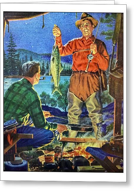 Got Supper Greeting Card by Susan Leggett