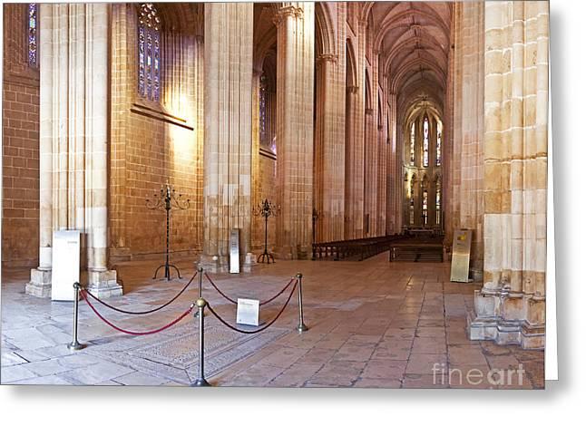 Gothic Church Greeting Card by Jose Elias - Sofia Pereira