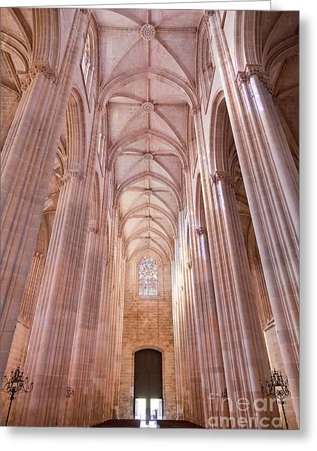 Gothic Masterpiece Greeting Card by Jose Elias - Sofia Pereira