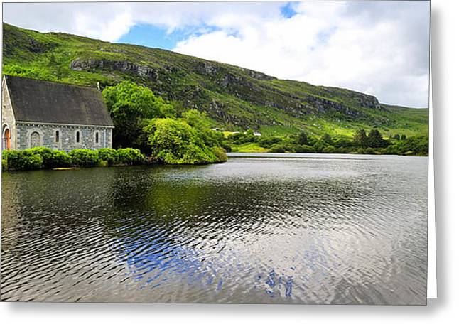 Gougane Barra Church Greeting Cards - Gougane Barra  Co.Cork Greeting Card by Michael Walsh