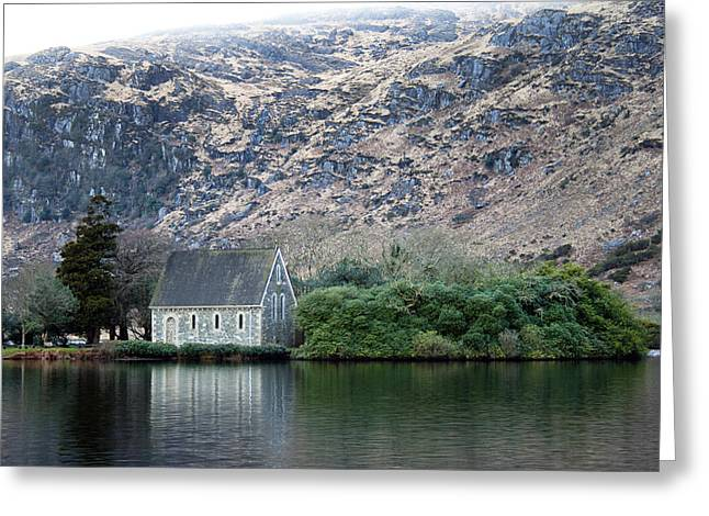 Gougane Barra Church Greeting Cards - Gougane Barra Greeting Card by Thomas Glover