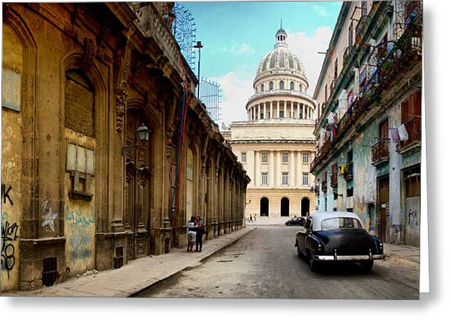 Government Building In A City, El Greeting Card by Panoramic Images