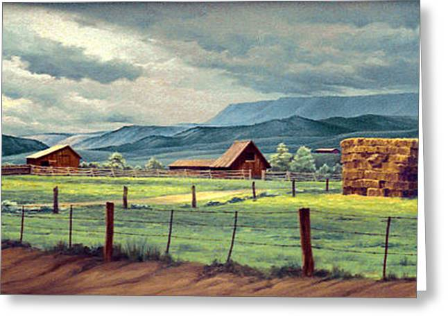 Granby Ranch Greeting Card by Paul Krapf
