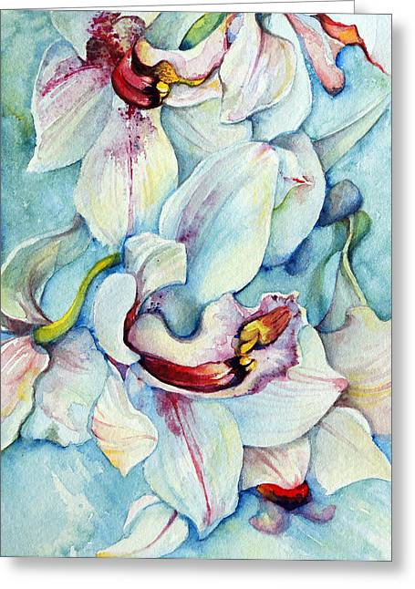 Grace And Peace Greeting Card by Kelly Johnson