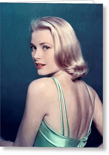 """red Carpet"" Greeting Cards - Grace Kelly Greeting Card by Nomad Art And  Design"