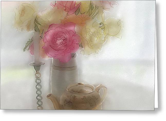 Rosy Hall Greeting Cards - Grace Note Greeting Card by Rosy Hall