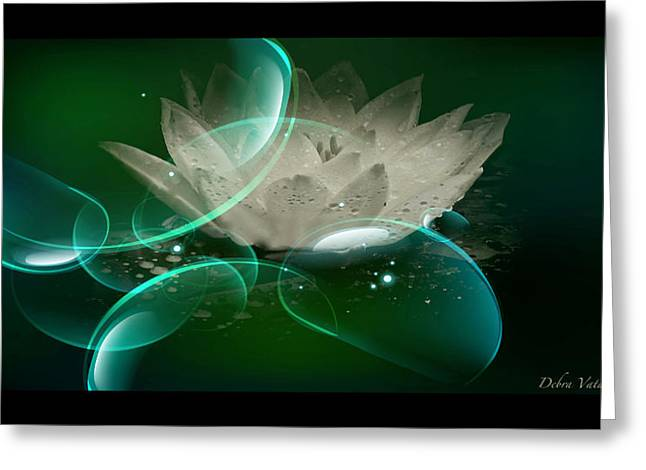 Stimulating Colored Flower Greeting Cards - Grace Of Nature  Greeting Card by Debra     Vatalaro