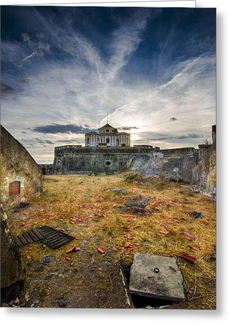 Hdr Look Digital Greeting Cards - Grace0 Greeting Card by Francesco Perratone