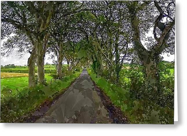 Ballymoney Greeting Cards - Gracehill Greeting Card by Chris Butler