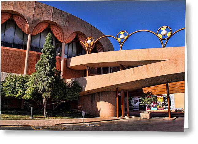 Gammage Greeting Cards - Grady Gammage Auditorium Greeting Card by Chuck Seller