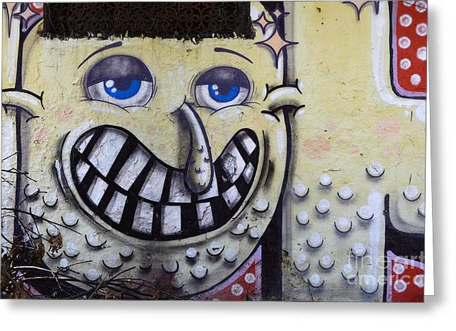 Urban Images Greeting Cards - Graffiti Art Buenos Aires 1 Greeting Card by Bob Christopher