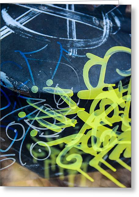 Grafiti Greeting Card by Toppart Sweden