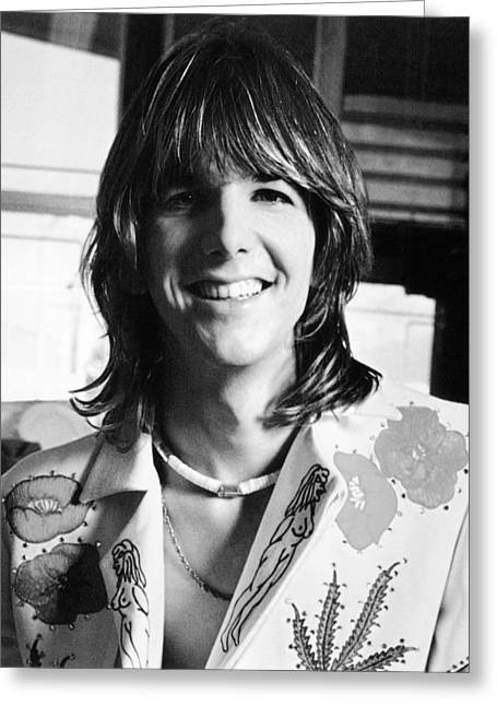 Gram Greeting Cards - Gram Parsons Greeting Card by Silver Screen