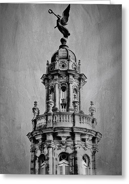 Habana Greeting Cards - Gran Teatro de La Habana Greeting Card by Erik Brede