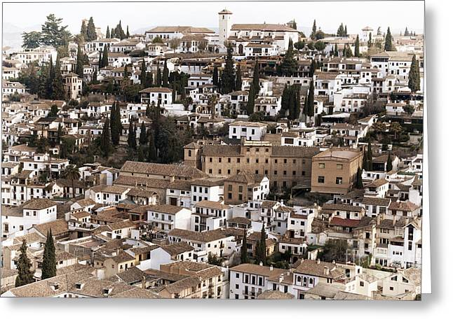 Granada Greeting Cards - Granada Greeting Card by Marion Galt