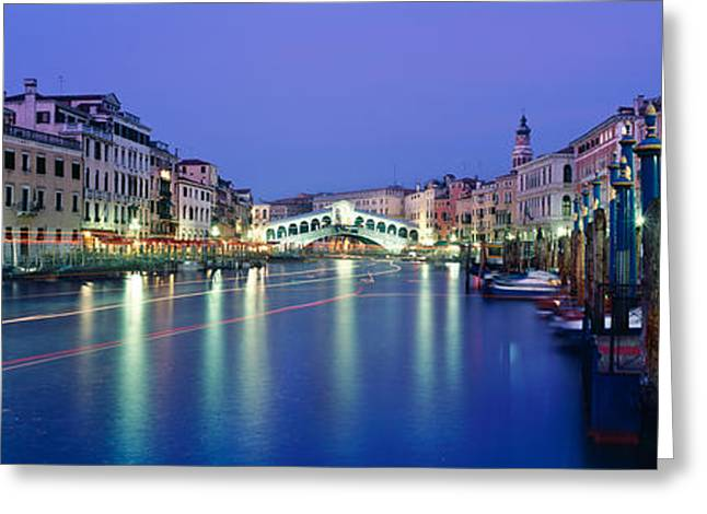 Grand Canal Greeting Card by Rod McLean