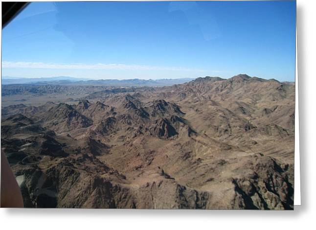 Helicopter Greeting Cards - Grand Canyon - 12123 Greeting Card by DC Photographer