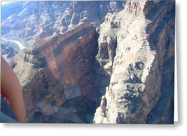 Helicopters Greeting Cards - Grand Canyon - 121241 Greeting Card by DC Photographer