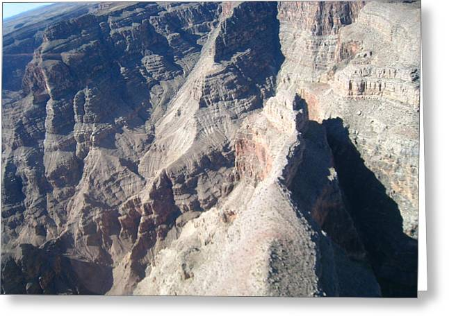 Helicopters Greeting Cards - Grand Canyon - 121242 Greeting Card by DC Photographer