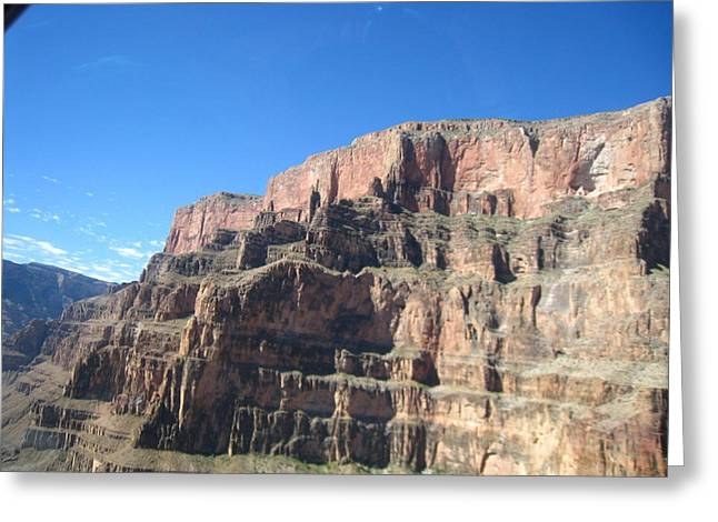 Helicopter Greeting Cards - Grand Canyon - 121257 Greeting Card by DC Photographer