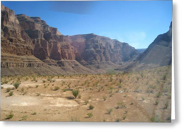 Helicopters Greeting Cards - Grand Canyon - 121268 Greeting Card by DC Photographer