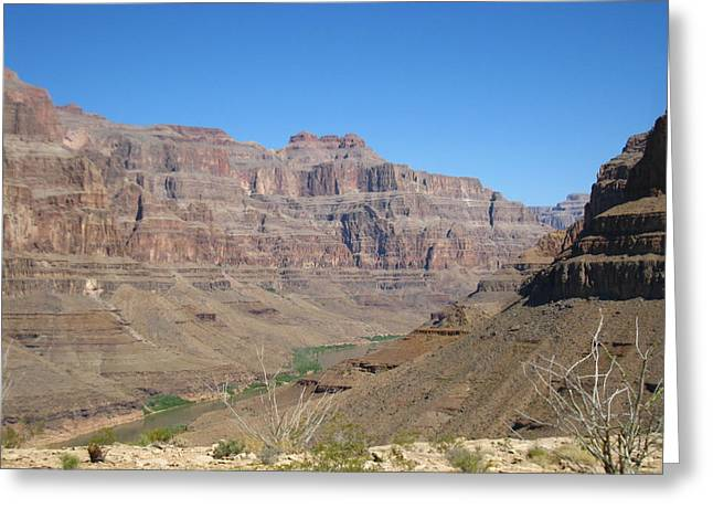 Helicopters Greeting Cards - Grand Canyon - 121271 Greeting Card by DC Photographer