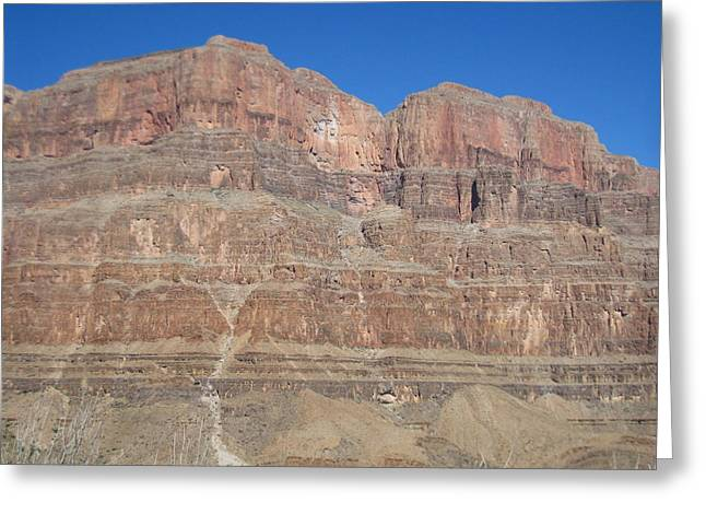 Helicopters Greeting Cards - Grand Canyon - 121276 Greeting Card by DC Photographer