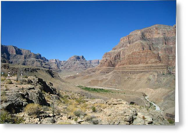 Helicopters Greeting Cards - Grand Canyon - 121282 Greeting Card by DC Photographer